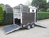Ifor Williams HB511 paardentrailer, graphite.