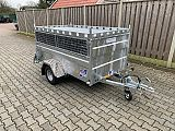 Ifor Williams Q7E. 219x122x90 cm.
