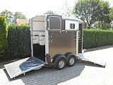 Ifor Williams HB506 paardentrailer, graphite.