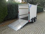 Ifor Williams BV85G. 242x147x153 cm.