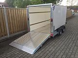 Ifor Williams BV126G. 364x173x183 cm.